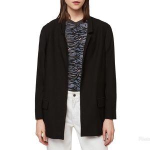 AllSaints Aida Jersey Blazer Size 0